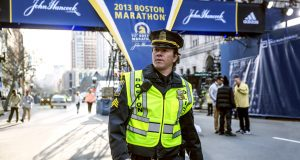 The film is Mark Wahlberg's third with director Peter Berg. Photo Credit: Rex Features