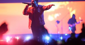 The Weeknd brought out Drake during the second show the next day.   Photo by Justin Ng