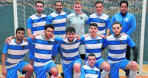 The futsal team have the chance to win the double on Sunday. Photo: Cleo Wilson