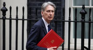 Chancellor of the Exchequer Philip Hammond. Credit: Sputnik International