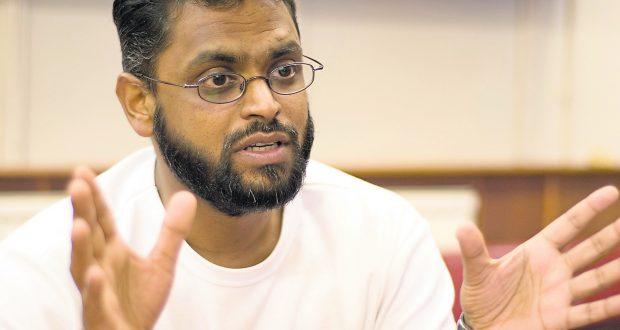 Moazzam Begg at the Birmingham Mosque, Birmingham, Britain - 29 Aug 2006