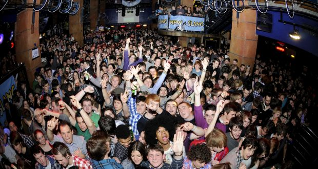 People party in Kingston's favourite indie music venue, Hippodrome