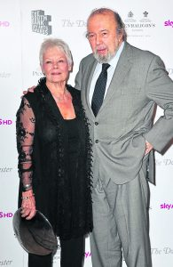Hall and Dame Judi Dench, who worked alongside with in A Midsummer Nights Dream