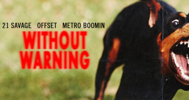 21 Savage, Offset and Metro Boomin team up as a trio on Without Warning