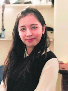 Kristine Bunayog, 21, financial mathematics student, Surbiton