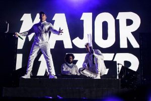 Major Lazer Live in show