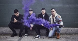 Fall Out Boy are touring until April 12
