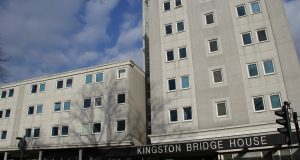 Kingston Bridge House currently has 43 empty bedrooms, with a further 57 reserved for conferences and short courses. Photo: Greg Potts