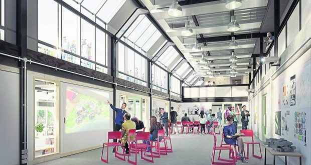 The new photos reveal a bright future for Knights Park. Photo: Kingston University