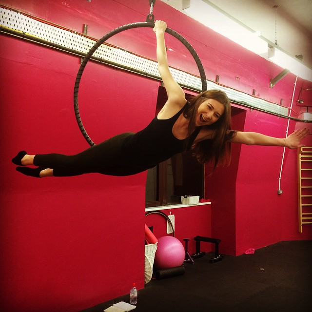 Johnson attends pole dancing lessons four to five times per week. Photo: Private / Stephanie Johnson