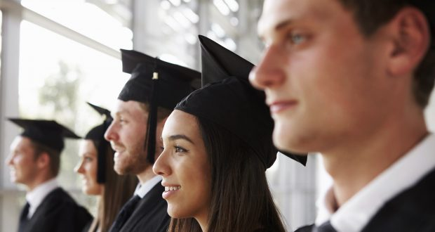 KU students are worried about job prospects after graduation amidst rising student debt and an uncertain future after Brexit. Photo: REX