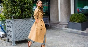 The trench coat is always a safe winner and will never go out of style. Photo: Outside the Vogue