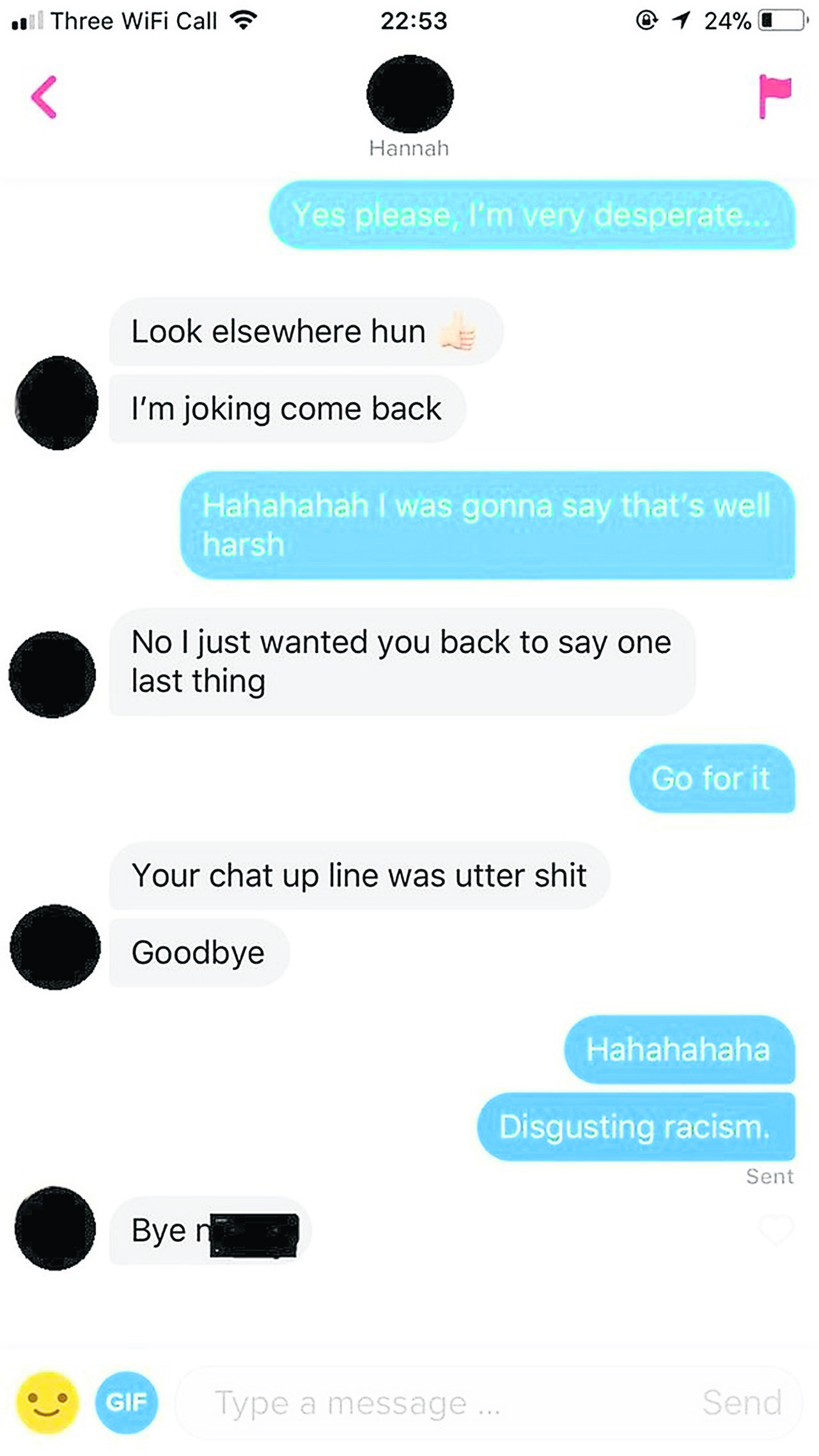 KU student racially abused by Tinder match | River Online