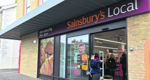 Sainsbury's Local is affecting local businesses Photo: Rikke Nylund