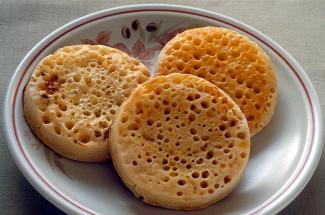 """I have never dared to look at a picture of a crumpet,"" says Olivia."