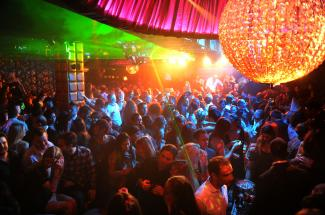 A brawl broke out in Essence Nightclub involving 30 people REX FEATURES