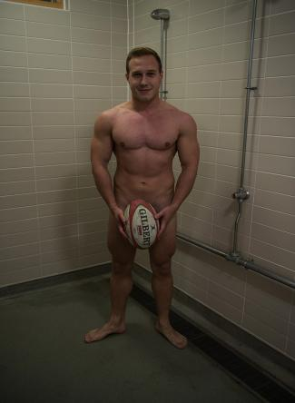Rugby players get naked for charity