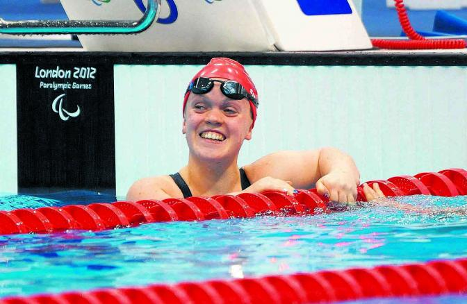 Paralympian Ellie Simmonds on balancing modules and medals