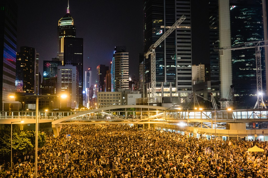 Hong Kong can teach Britain's students a thing or two about student activism