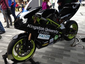 University motorsport hits town