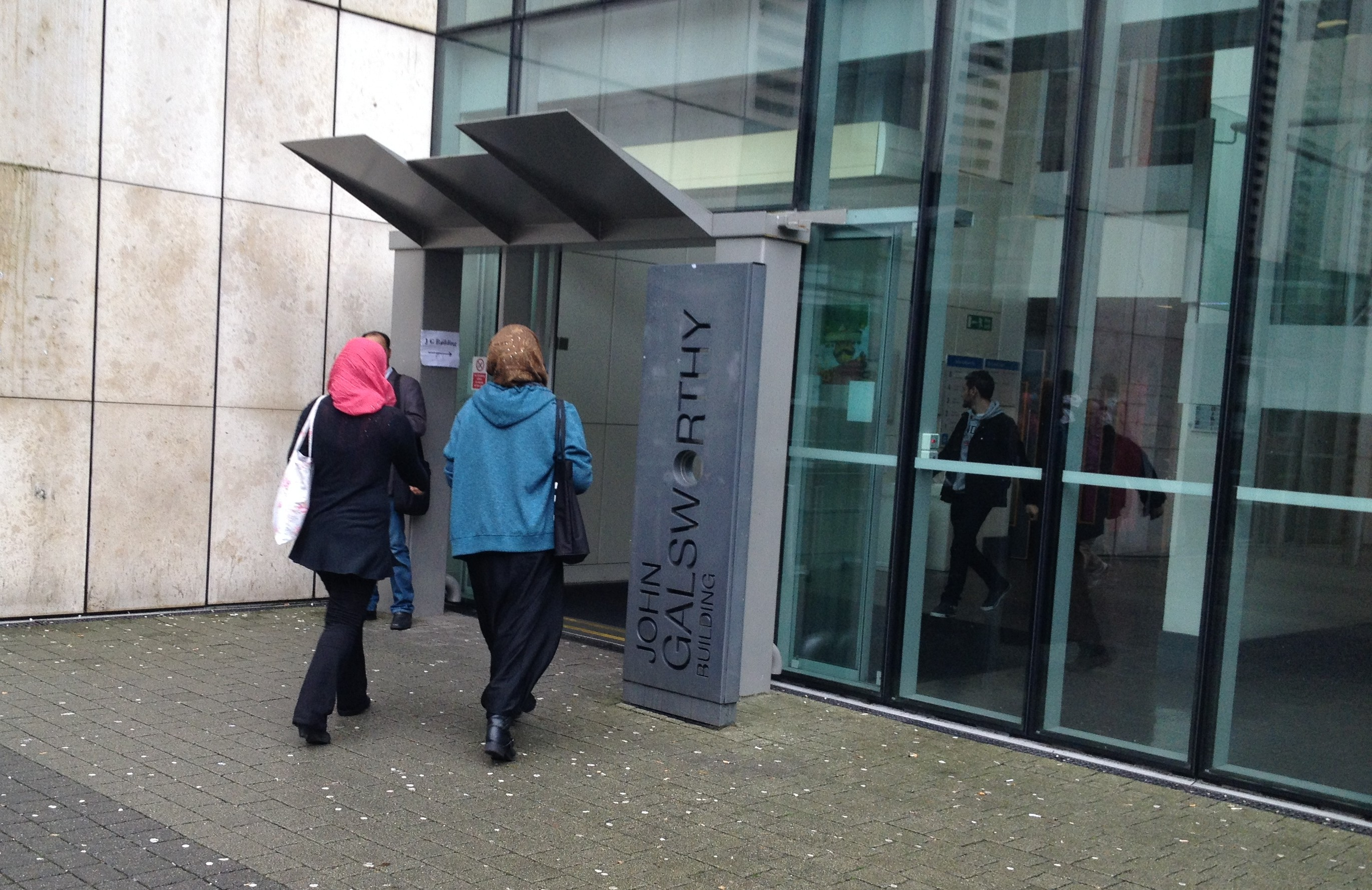 Students at Penrhyn Road Campus