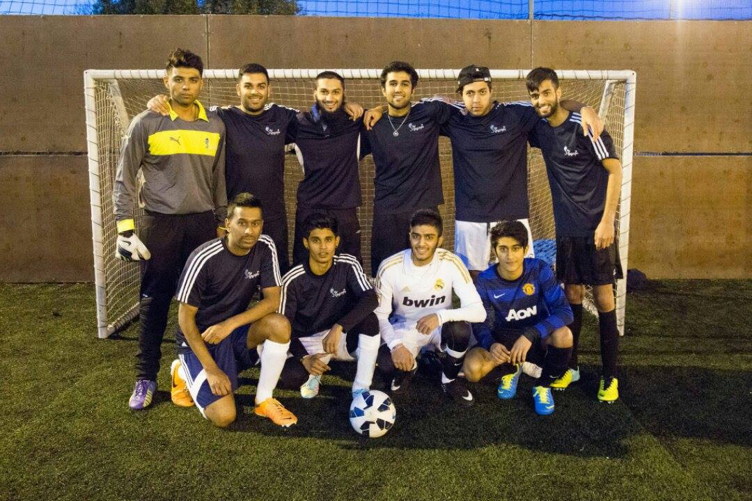 NHSF Kingston football team