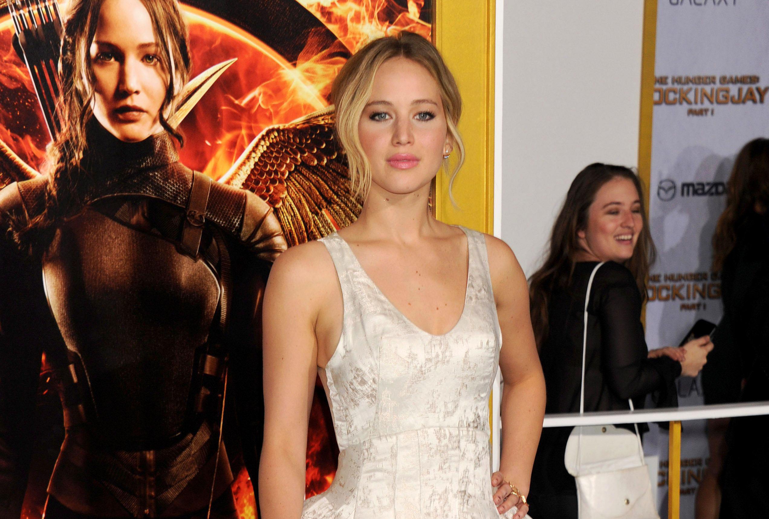 'The Hunger Games: Mockingjay Part 1' film premiere, Los Angeles, America - 17 Nov 2014