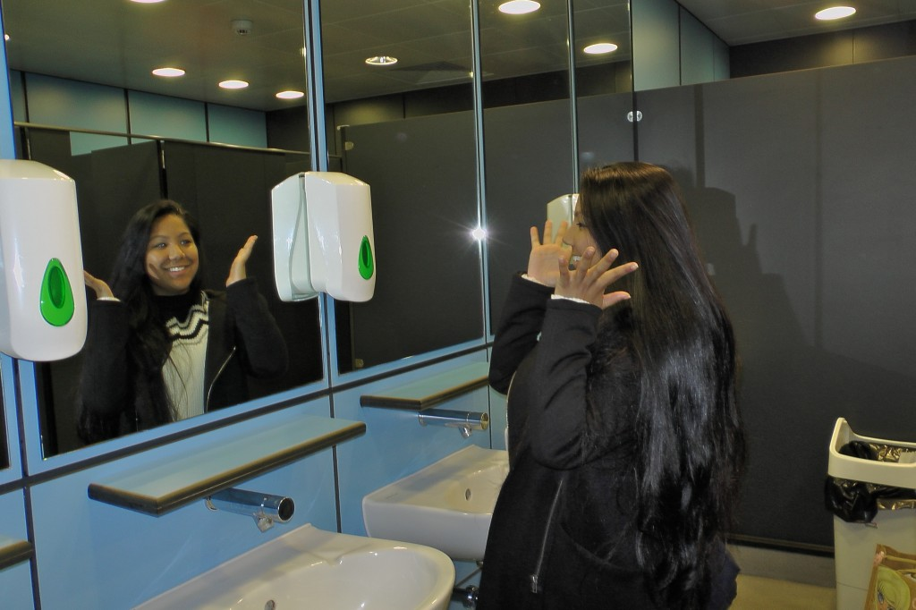 Across campus loos, a soap crisis
