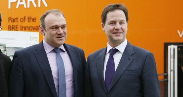 """Ed Davey has said that he would lead the party """"if it fell to him"""". PICTURE: Peter White/Flickr creative commons"""
