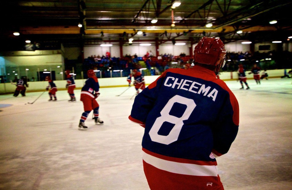 Kingston University's ice hockey talent thanks 'Mighty Ducks' for changing his life