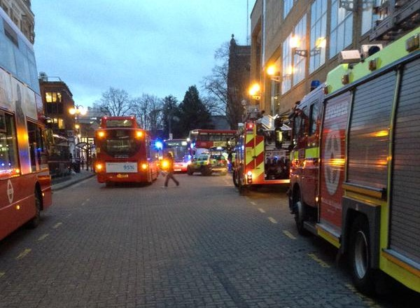 Wood Street closed after vehicle hits pedestrian in Kingston