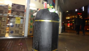Tesco manager blames messy students for overflowing bins in Kingston town centre