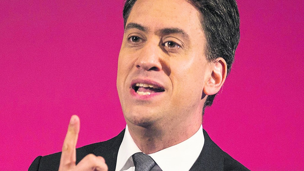 Miliband's mission on behalf of young people