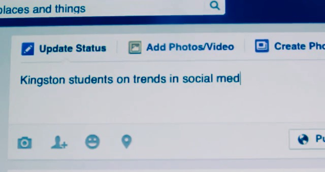Kingston Students on Social Media Trends
