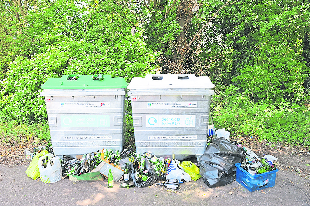 The Kingston and Surbiton MP predicted fortnightly recycling will lead to overflowing bins. Photo: REX