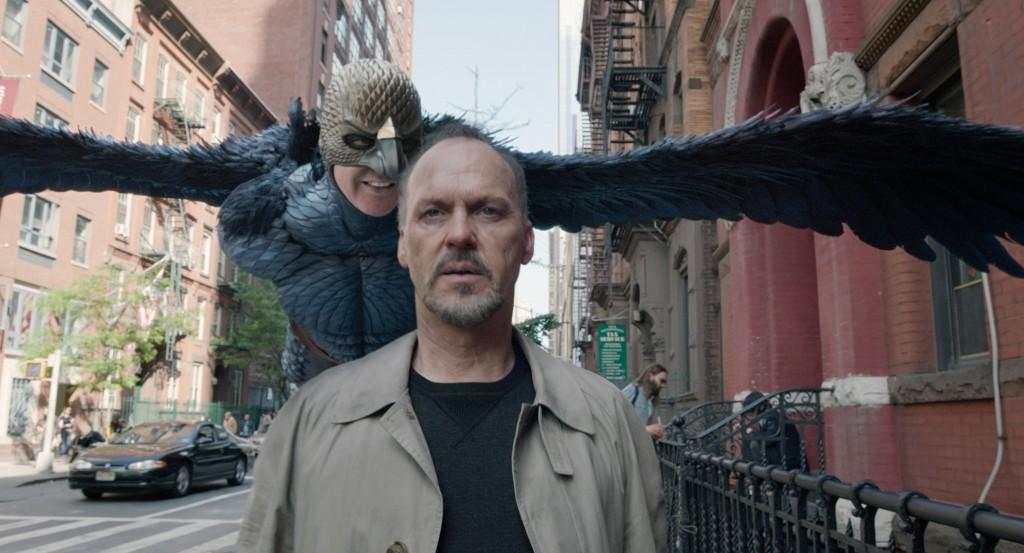 "Riggan Thomas and his alter ego ""Birdman"". Photo: Rex Features"