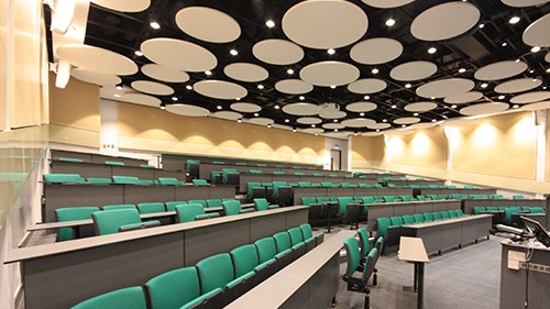 Clattern Lecture Theatre reopens after months of redevelopment