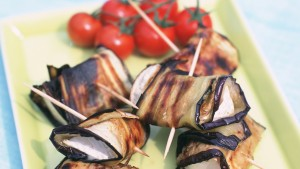 Food Fridays: How to make aubergine rolls with cheese and dates
