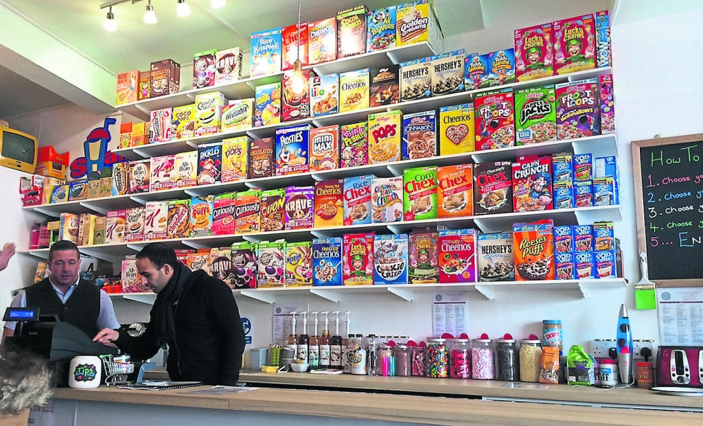A new cereal bar has opened in Kingston town centre