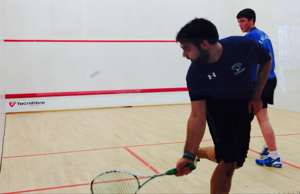 Kingston squash clear up last day to save tournament