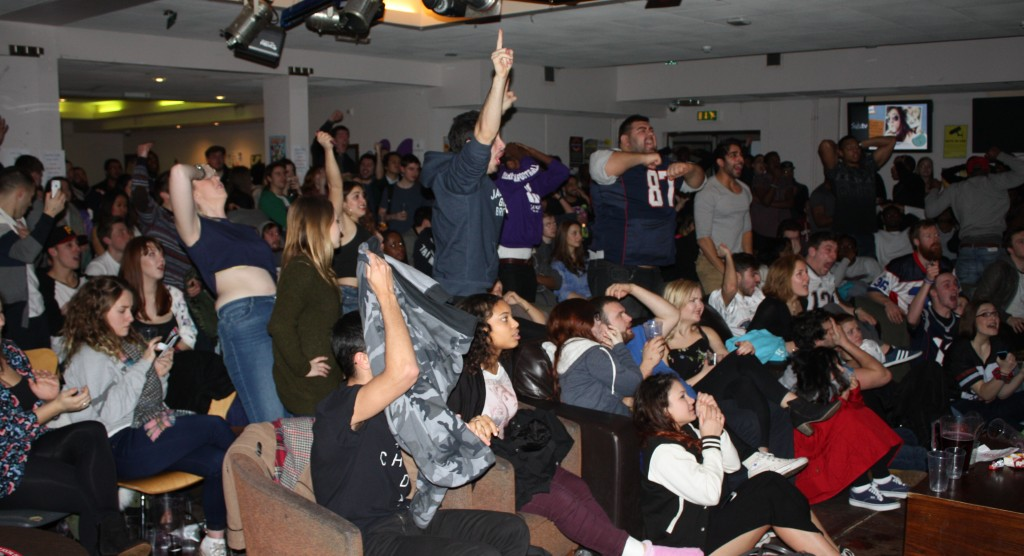 Kingston's Space Bar hosts Super Bowl for students