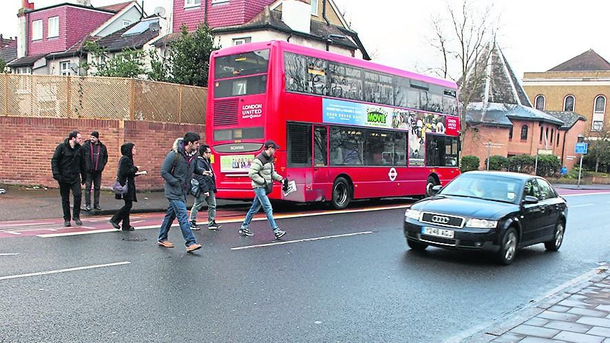 Penhryn Road gets new crossing outside Main Building