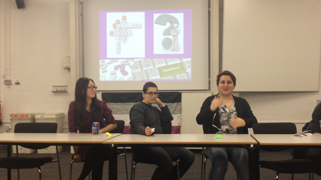 Kingston University students learn about asexuality
