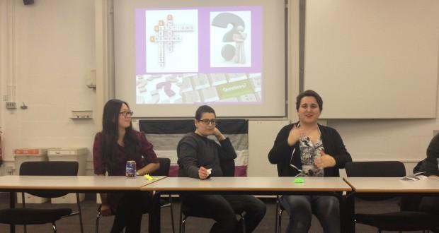Katie, Diego Maco and Lea Uva. Photo: Eline Rilda