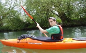 Kingston kayaker 'breaking and entering'