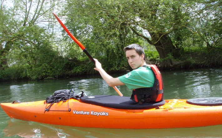 Kingston kayaker 'breaking and entering'