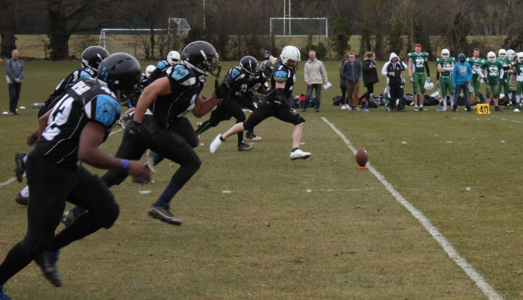 Kingston Cougars American Football secure place in national final