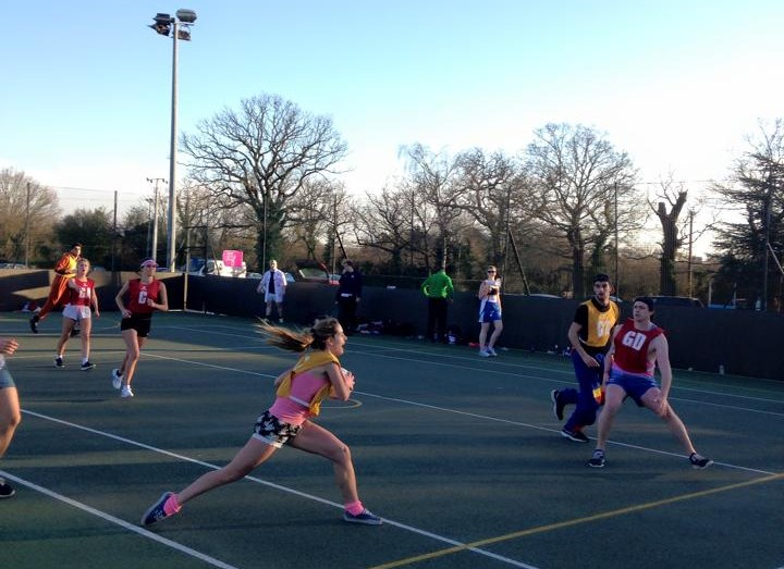 Charity netball success