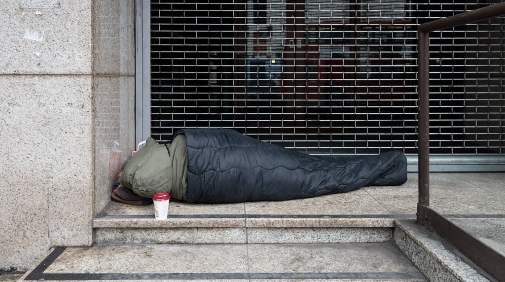 Kingston students spend the night on the streets to raise awareness about homelessness