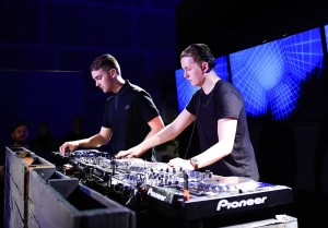 Mandatory Credit: Photo by Billy Farrell/BFA.com/REX Shutterstock (5195711u) Guy Lawrence, Howard Lawrence, Disclosure Neuehouse Presents: Disclosure for Kcrw's Morning Becomes Eclectic, Neuehouse Hollywood, Los Angeles, America - 28 Sep 2015